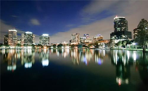 Orlando Night Skyline
